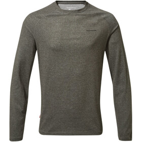 Craghoppers NosiLife Bayame II Long Sleeved T-Shirt Men Black Pepper Marl